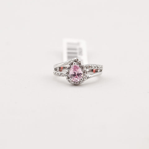 R. S. Covenant 893 Women's Pink CZ Ring SZ 7