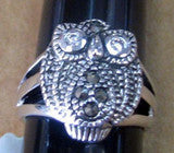 R. S. Covenant 1772 MARCASITE OWL SIZE 7