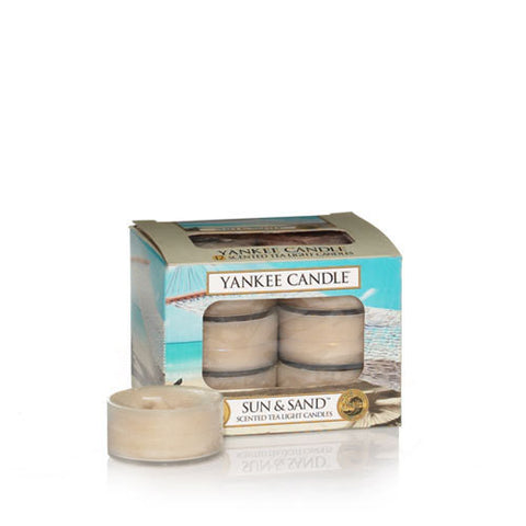 Yankee Candle Sun and Sand Tealight AAA (Tea Light Candles)
