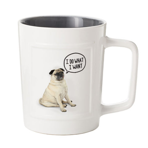 Hallmark 1ASH1015 Do What I Want Dog Mug