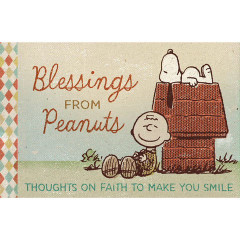 Hallmark Blessings From Peanuts Book