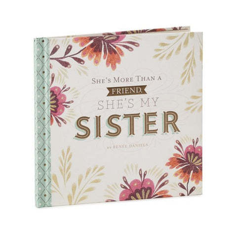 Hallmark BOK1067 She's More Than My Friend, She's My Sister Book