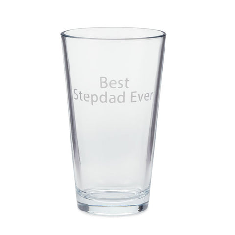 Hallmark Best Stepdad Ever Pint Glass