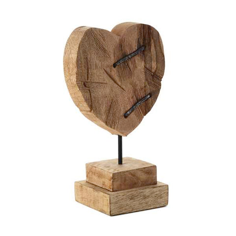 Hallmark Medium Mango Wood Carved Heart