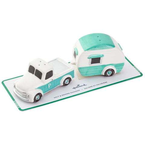 Hallmark Truck and Camper Salt and Pepper Shakers