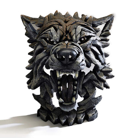 Enesco 6005331 Wolf Bust Sculpture