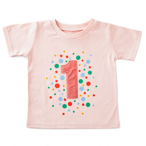 Hallmark BBY4772 First Birthday Pink T-Shirt Size 12m