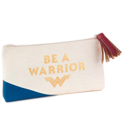 DC Comics Wonder Woman Be a Warrior Zipper Pouch