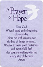 Dicksons Gift Shop Pocket Card Bookmark Pack of 12 - A Prayer of Hope