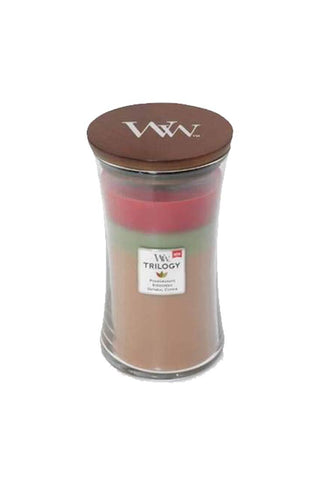 WoodWick Joyful Gatherings Trilogy 22 oz Scented Jar Candles - 3 in One
