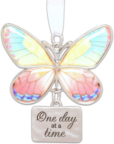 NEW GANZ BUTTERFLY ORNAMENT THERE IS ALWAYS SOMETHING TO BE THANKFUL FOR