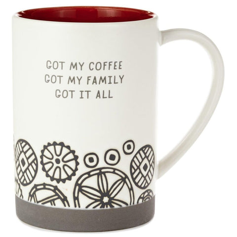 Hallmark Got My Coffee Ceramic Mug