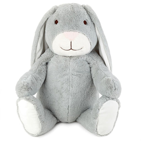 Hallmark Grey Bunny Jumbo Stuffed Animal