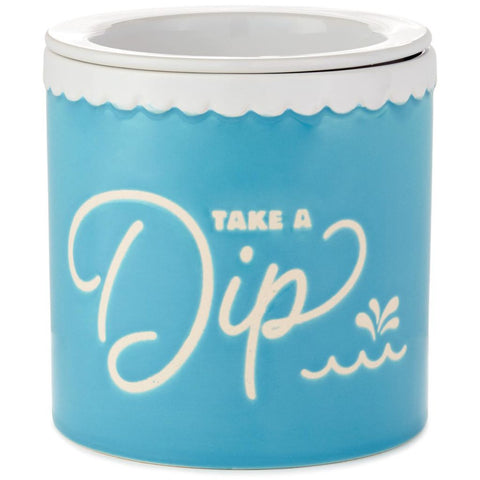 Hallmark Take a Dip Ceramic Dip Chiller