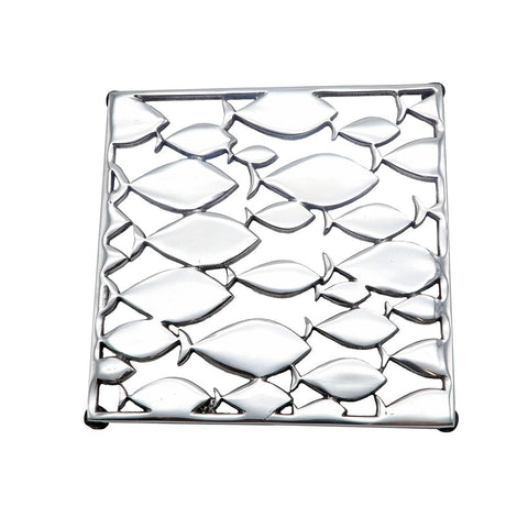 DEI 11204 School of Fish Trivet