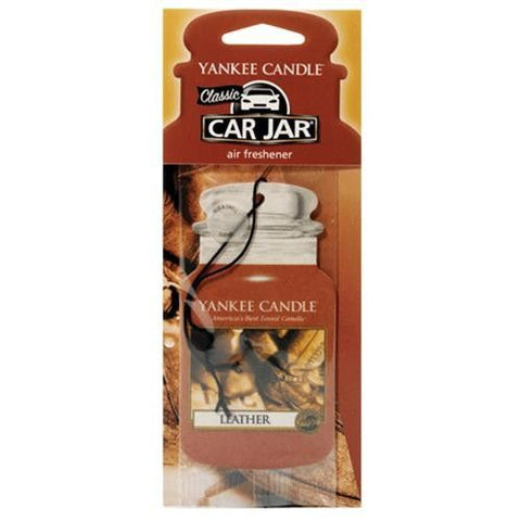 Yankee Car Jar Single - Leather