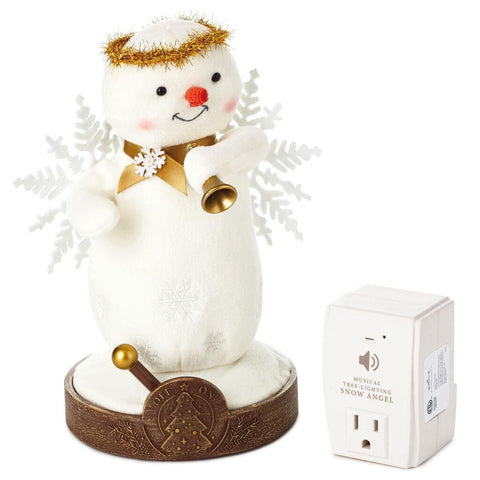 Hallmark Musical Christmas Tree-Lighting Snow Angel