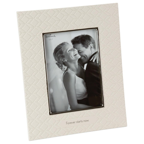 Hallmark Forever Starts Now Wedding Picture Frame, 5x7 Picture Frames