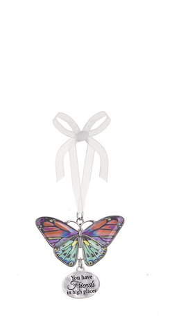 Ganz Home Decor Christmas/Spring Blissful Journey Butterfly Ornament (You Have Friends in high Place