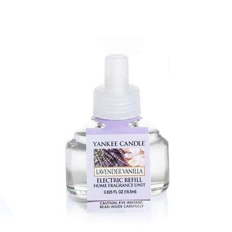 Yankee Candle Lavender Vanilla Fresh Scent (Scent-Plug Air Freshener Refill)