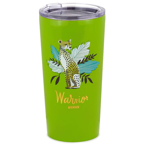 Warrior Woman Stainless Steel Tumbler