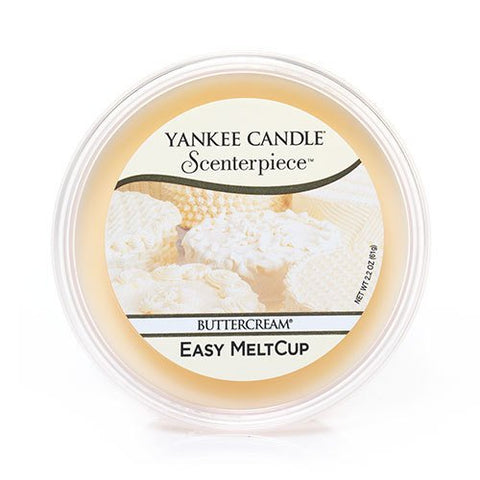 Yankee Candle Scenterpiece Easy MeltCup 2.2oz-Buttercream scent