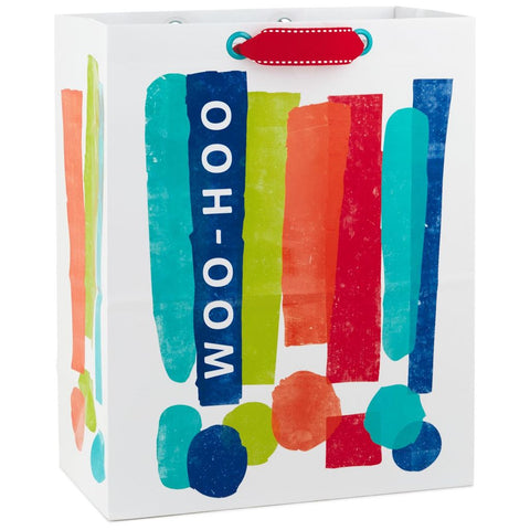 Hallmark Woo-Hoo Exclamation Points Large Gift Bag