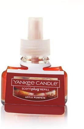 Yankee Candle Apple Pumpkin Scent-Plug Air Freshener Refill, Food & Spice Scent