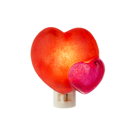 Ganz 162853 Midwest CBK Red Heart Night Light Resin Electrical