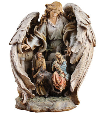 Napco Guardian Angel Scene Decorative Set