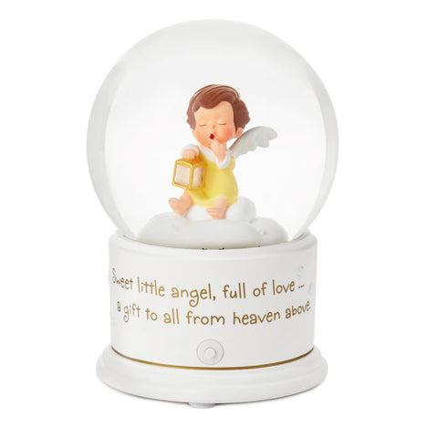 Hallmark Mary's Angels Light-Up Lullaby Water Globe