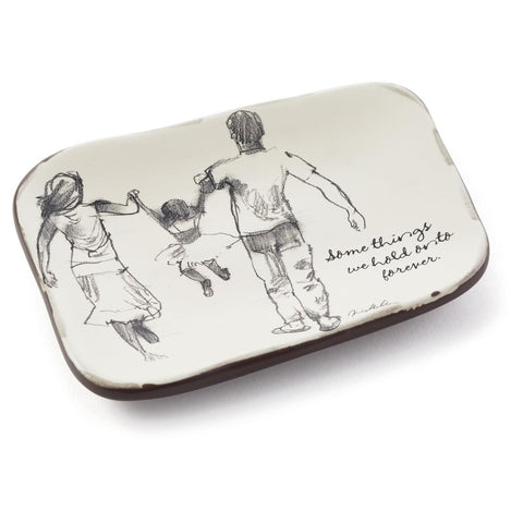 Hallmark Kes1007 Some Things We Hold Forever Ceramic Tray