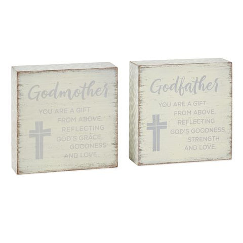 Hallmark Godparents Gift Block Set
