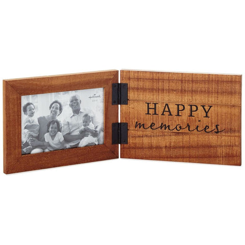 Hallmark Happy Memories Rustic Wood Picture Frame