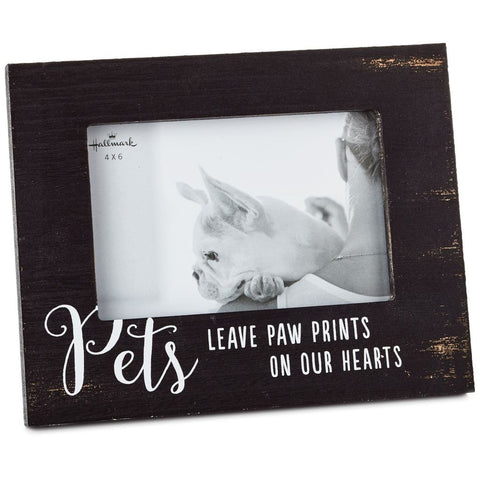 Hallmark Pets Leave Paw Prints Wood Picture Frame