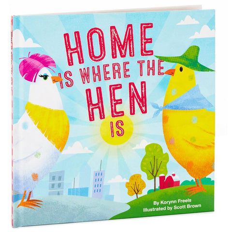 Hallmark Home Is Where the Hen Is Book