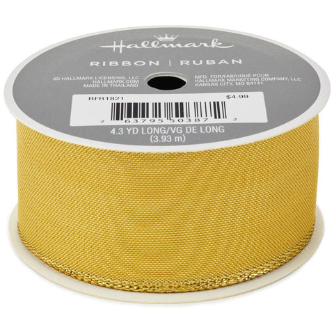 Hallmark Gold Metallic Ribbon