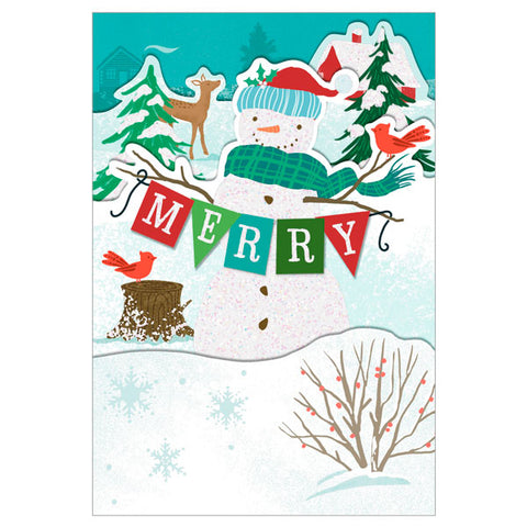 Hallmark Holly, Jolly Holidays 3D Pop-Up Christmas Cards, Box of 8