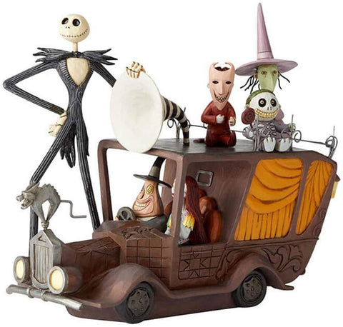 Enesco Jim Shore Disney Traditions The Nightmare Before Christmas Mayor Car Figurine