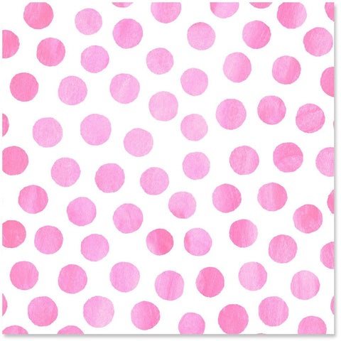 Hallmark Pink Watercolor Dots Wrapping Paper Roll
