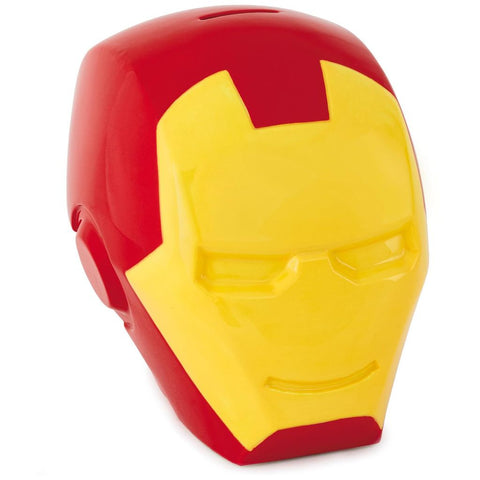 Hallmark Marvel Avengers Iron Man Ceramic Coin Bank