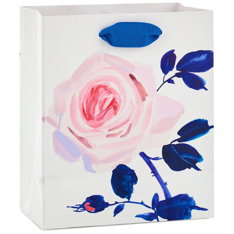 Hallmark Pink Rose on Pink Small Gift Bag