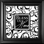 "His Hands CL022 10"" X 10"" Bless Our Home"