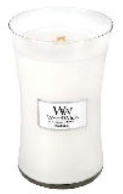 WoodWick MAGNOLIA 22 oz Large Hourglass Jar Candle Burns 180 Hours