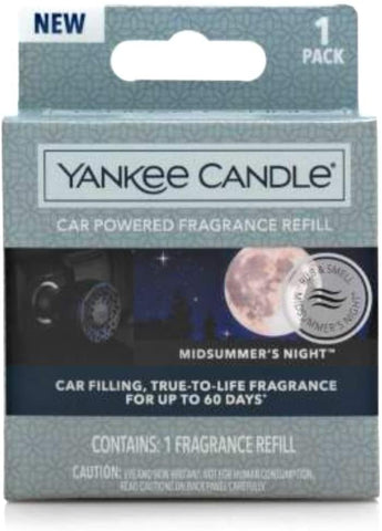 Yankee Candle Car Powered Fragrance Refill Midsummers Night