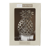 Ganz 157473 Midwest Silver Pineapple Night Light 7 Watt Electric Zinc Alloy