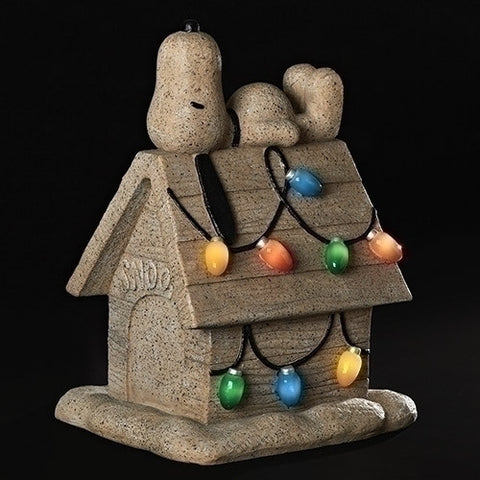 "Roman 160006 18"" Snoopy On House Garden Fig"