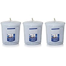 (3 Pack) Yankee Candle Life's A Breeze Samplers Votive Candles