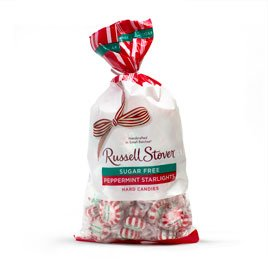 Russell Stover Sugar Free Starlight Mints Hard Candies 12 oz. Bag