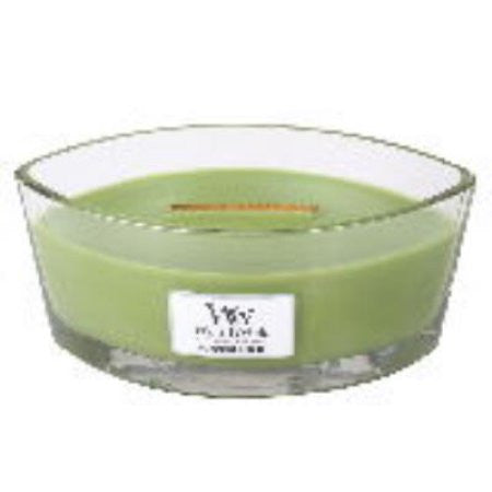 HearthWick Flame Large Scented Candle Mint Leaf & Basil